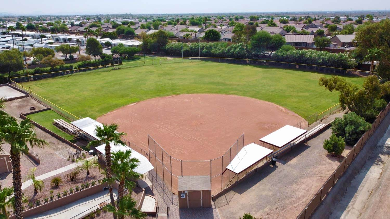 Phoenix, AZ baseball field