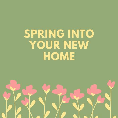 sunny spring savings